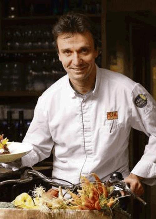 Chef François Pasteau
