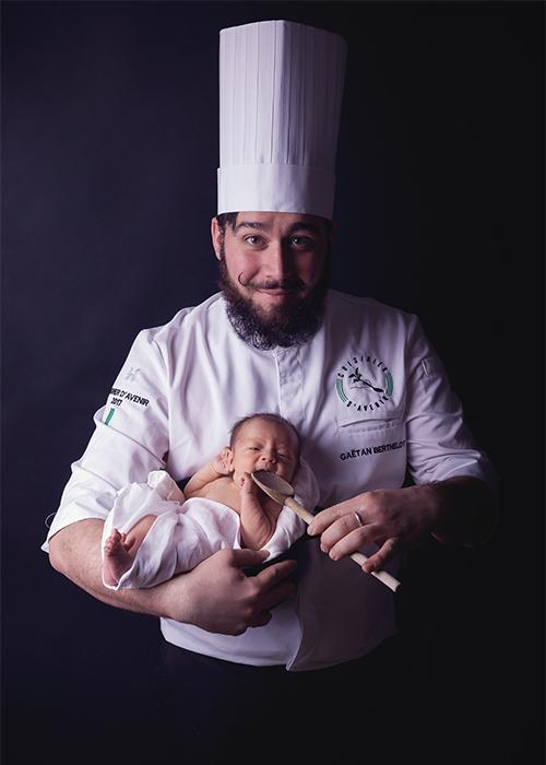 Chef Gaëtan Berthelot
