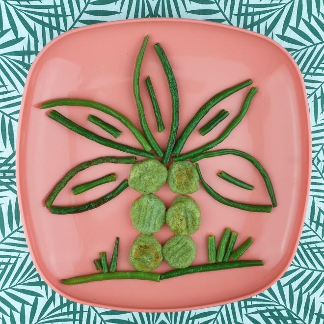 Gnocchis de haricots verts et sa poêlée